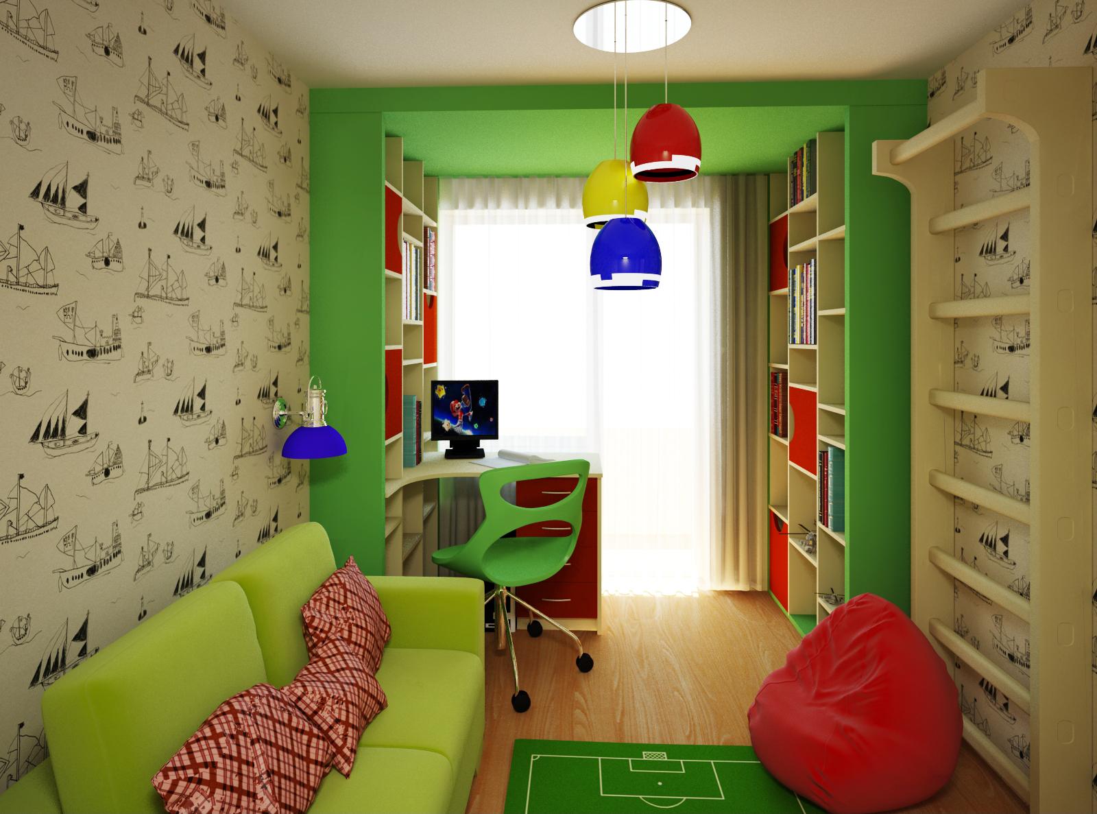 Простой дизайн комнаты своими руками фото