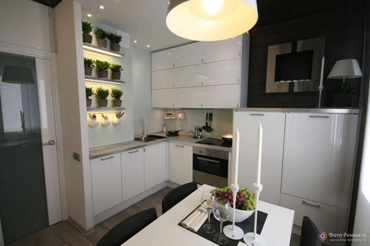 Дизайн прямоугольной кухни 12 метров фото