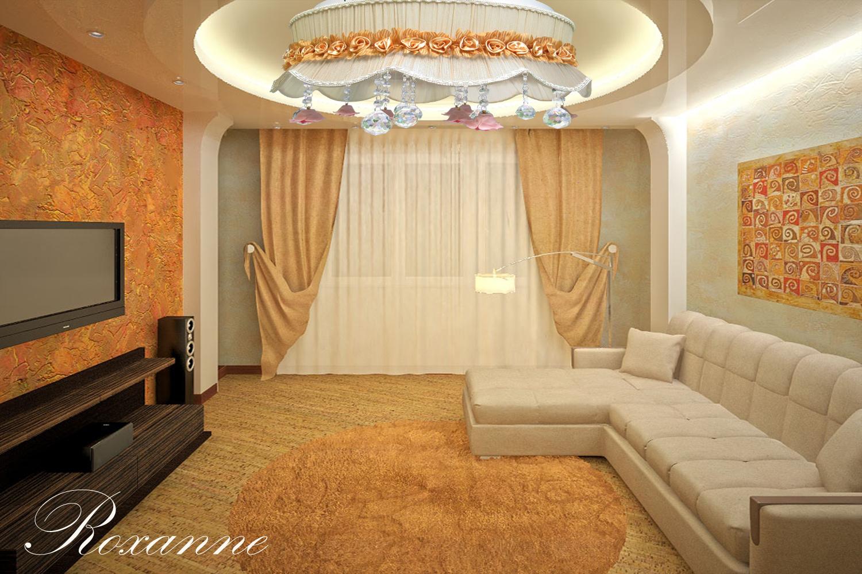 Ремонт зал в квартире своими руками