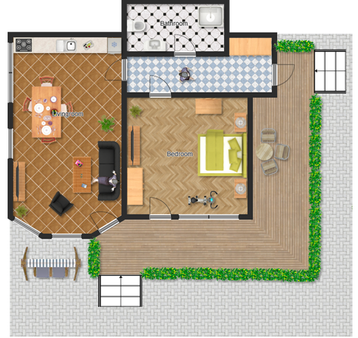 Create 3d house plans online for Online 3d building design