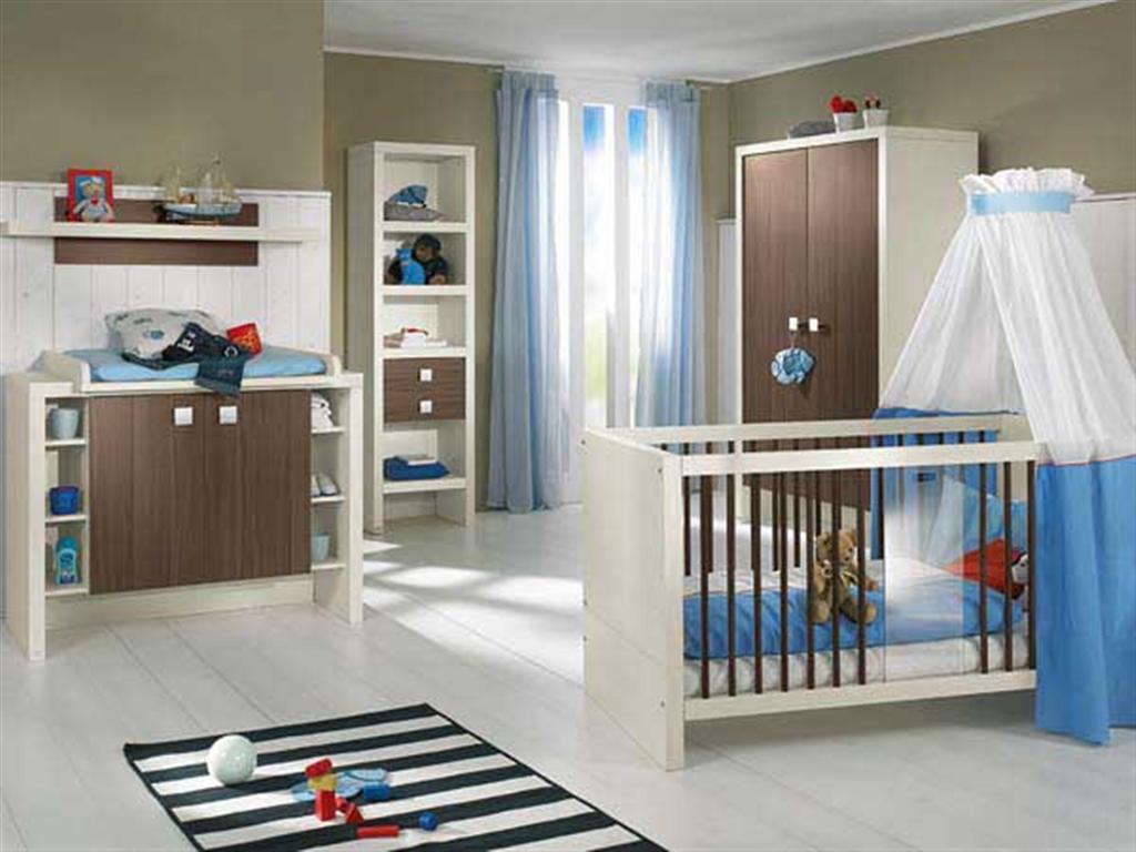 Дизайн детской комнаты для малыша