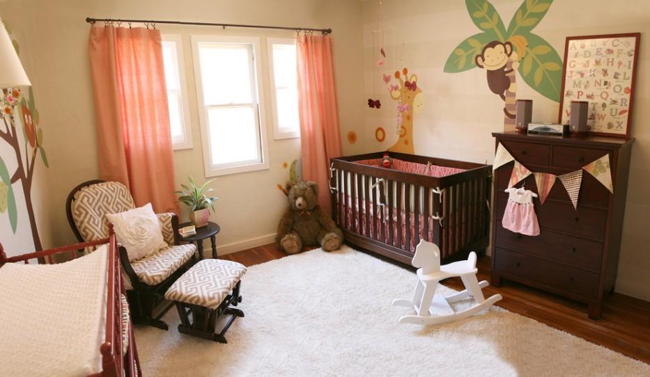 Фото интерьер комнаты для новорожденных