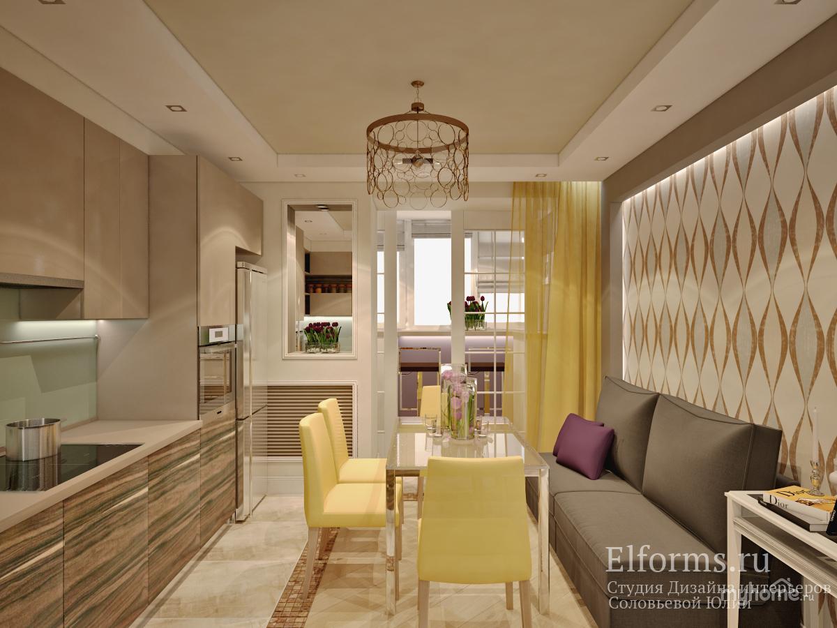 Дизайн проекты квартиры 60 квм