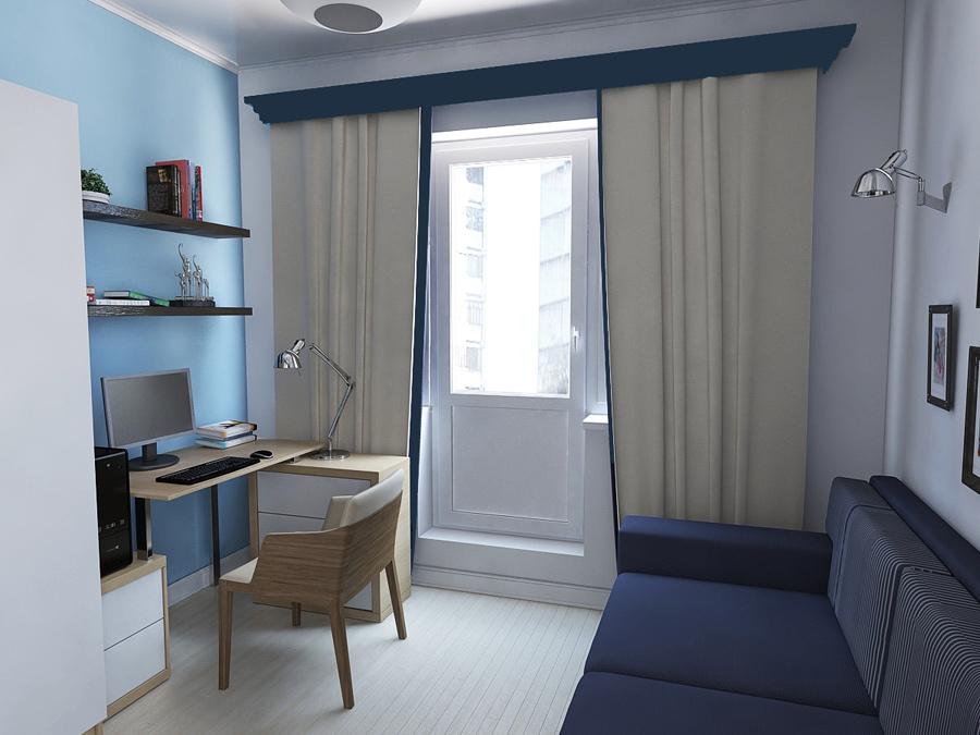 Фото интерьера однокомнатной квартиры хрущёвки. Лучшая ...