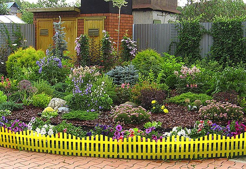 Как оформить сад своими руками картинки