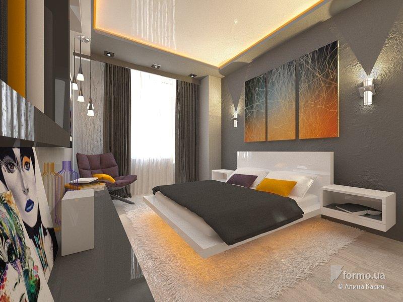 Дизайн спальни для молодежи
