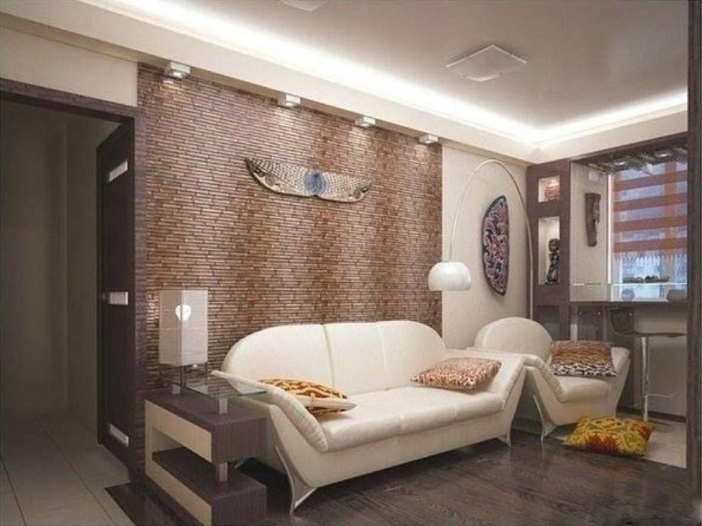 Интерьер гостинной-спальни в хрущевке