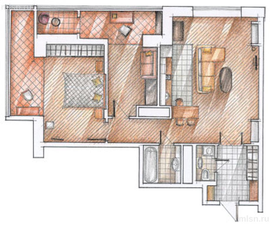 С чего начать ремонт в 3-комнатной квартире?