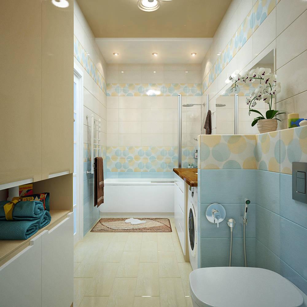 Дизайн узкой ванной комнаты фото 2016 современные идеи