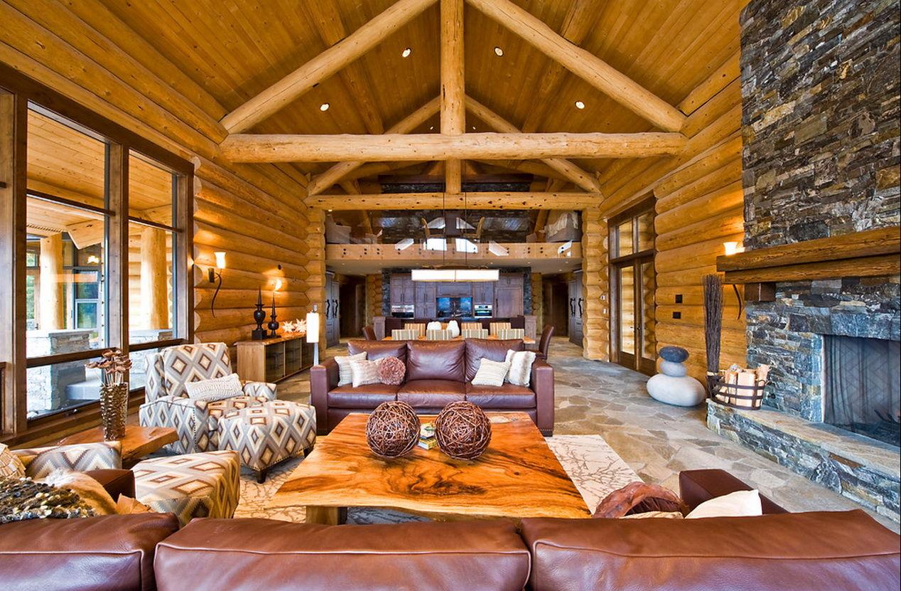 Канадские домики дизайн ин
