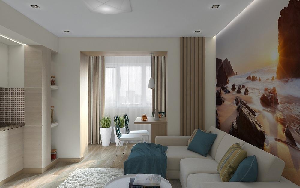 Дизайн-проект квартиры в томске, 60 квм