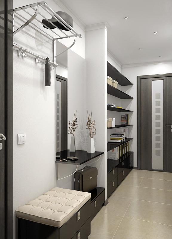 Дизайн очень узких коридоров