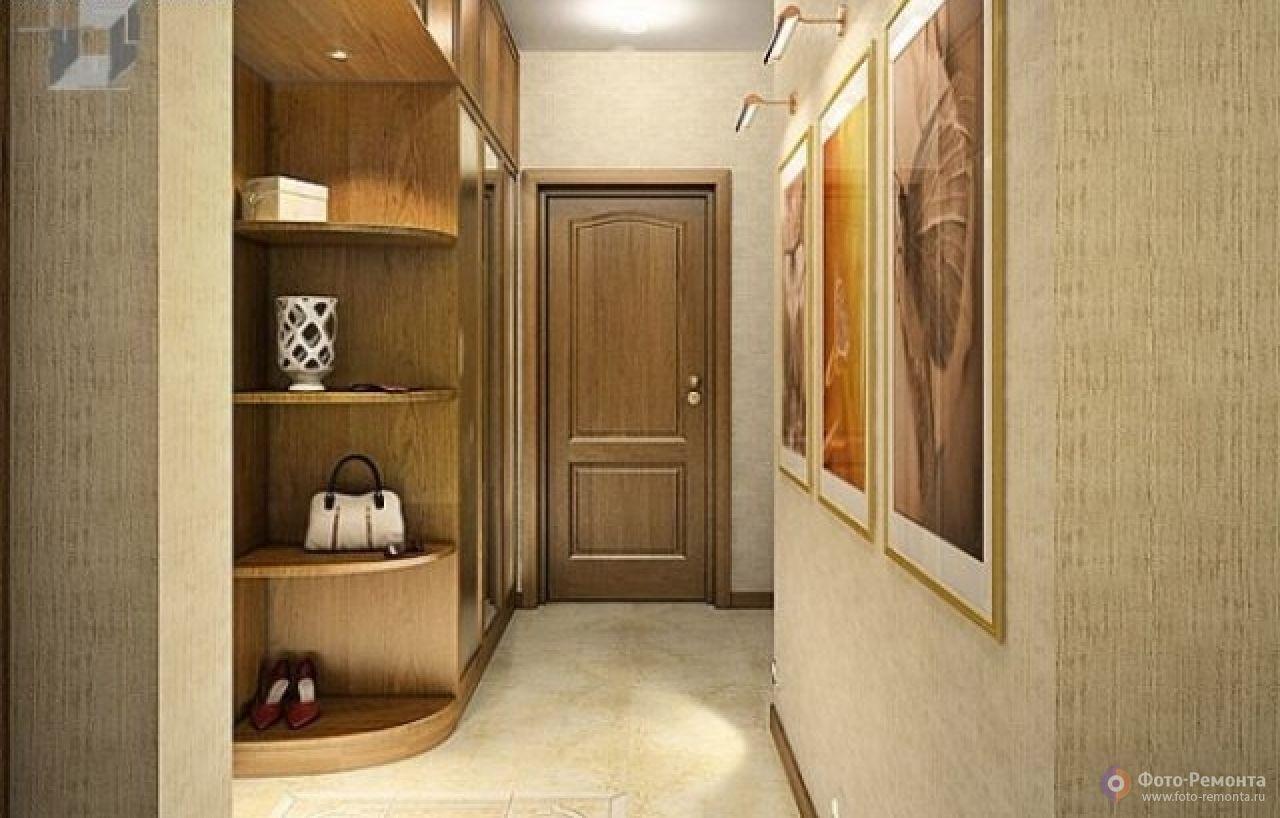 Красивый дизайн прихожей - создаем в малогабаритной квартире.