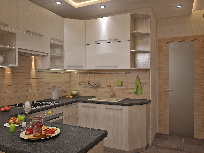 Дизайн квартир кухня 6 м. кв
