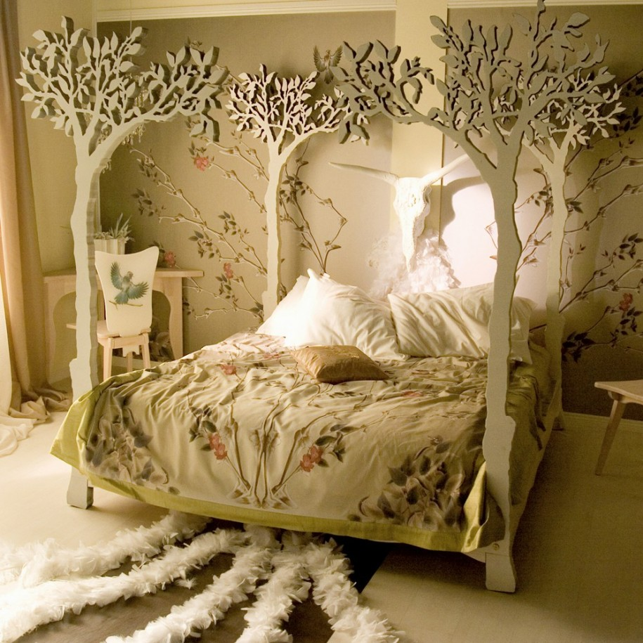 Спальня декор своими руками