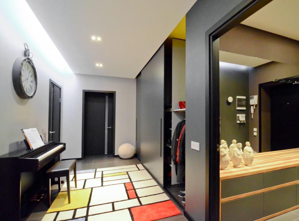 Дизайн трехкомнатной квартиры в панельном доме 70 кв.м