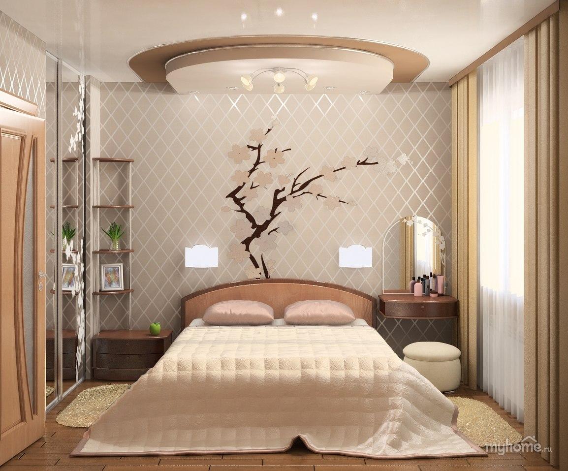 Интерьер спальни 10 м2 фото