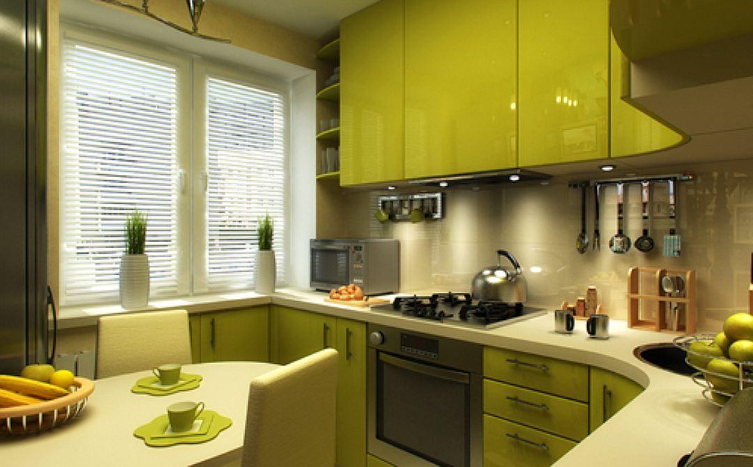 Небольшая кухня интерьер фото