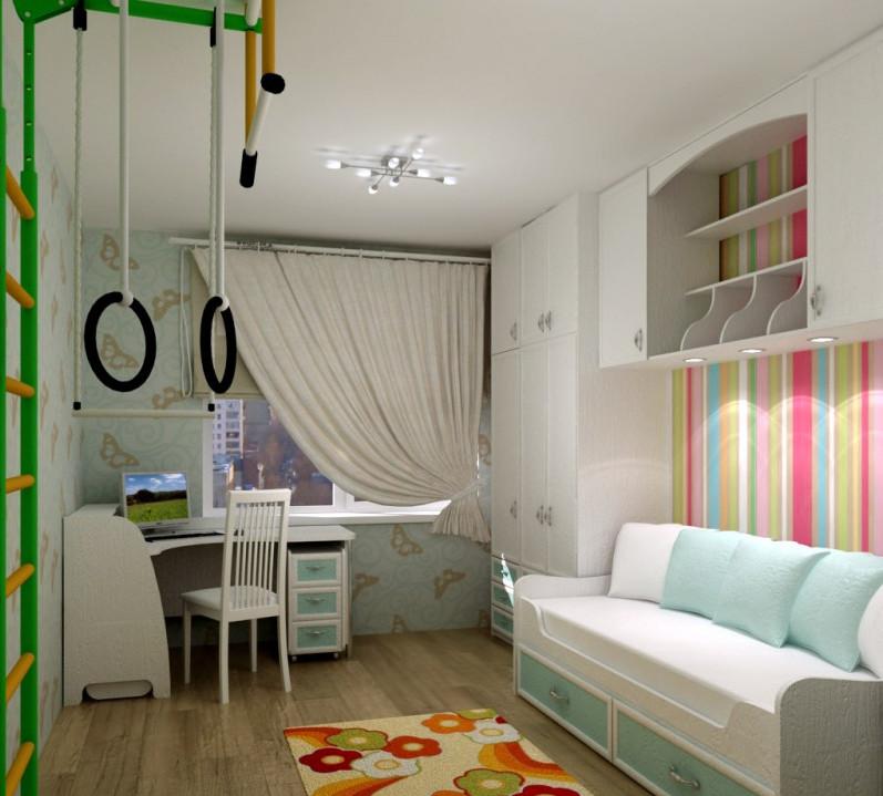 Дизайн маленькой детской комнаты для мальчиков дизайн