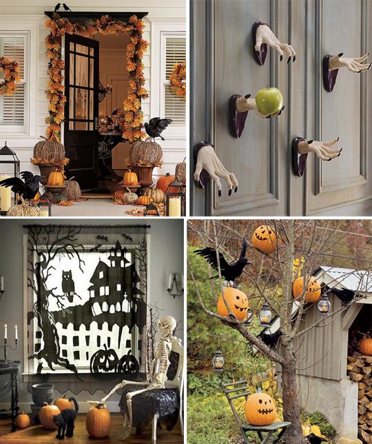 Украшения для дома к хеллоуину