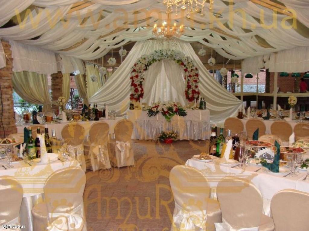 Как украсить зал на юбилей и свадьбу своими руками
