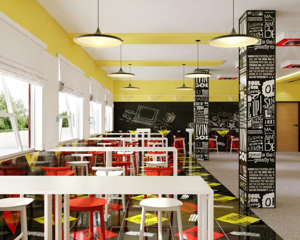 Дизайн молодежных кафе