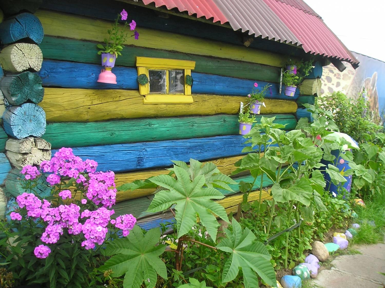 Чем украсить дачный домик