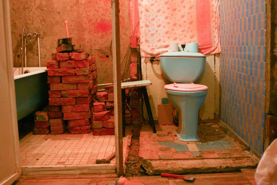 ванная комната в панельном доме своими руками Марина 2017-02-12 Приобрела