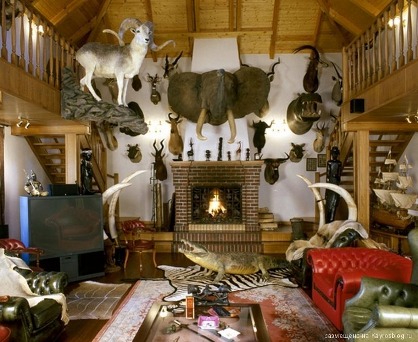 Охотничий домик стиль в дизайне