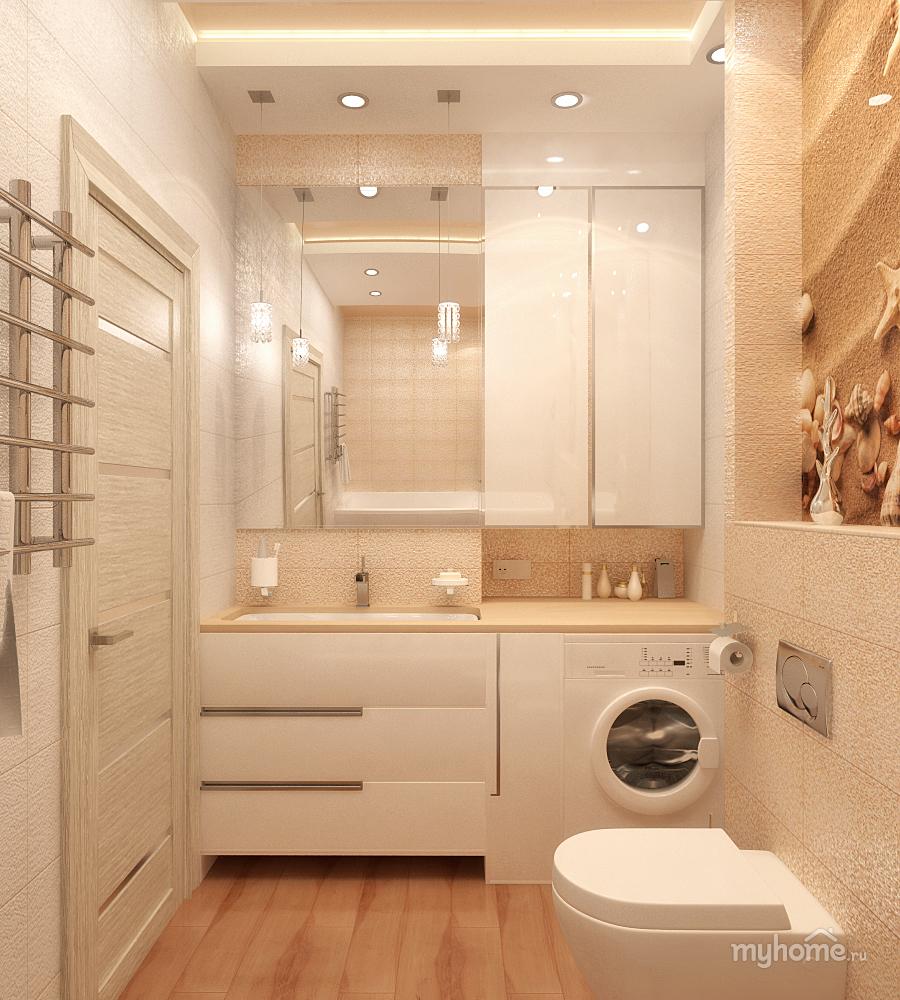 Дизайн для ванной комнаты в квартире