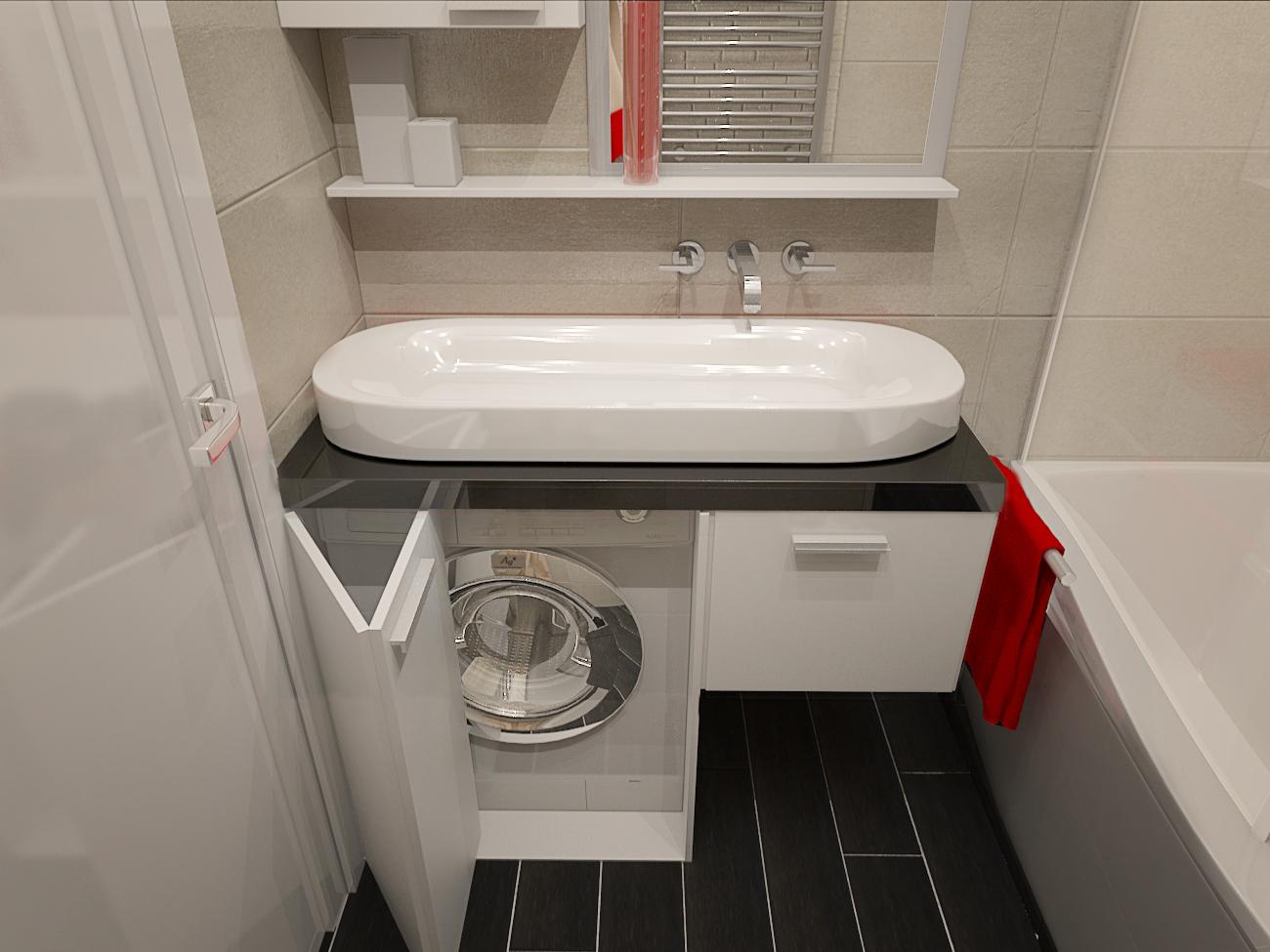 Дизайн маленькой ванной комнаты 3м кв