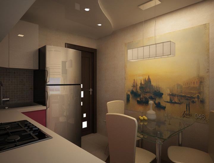 Дизайн трехкомнатной квартиры 63 кв м 66