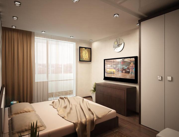Комната 15 кв м дизайн спальня