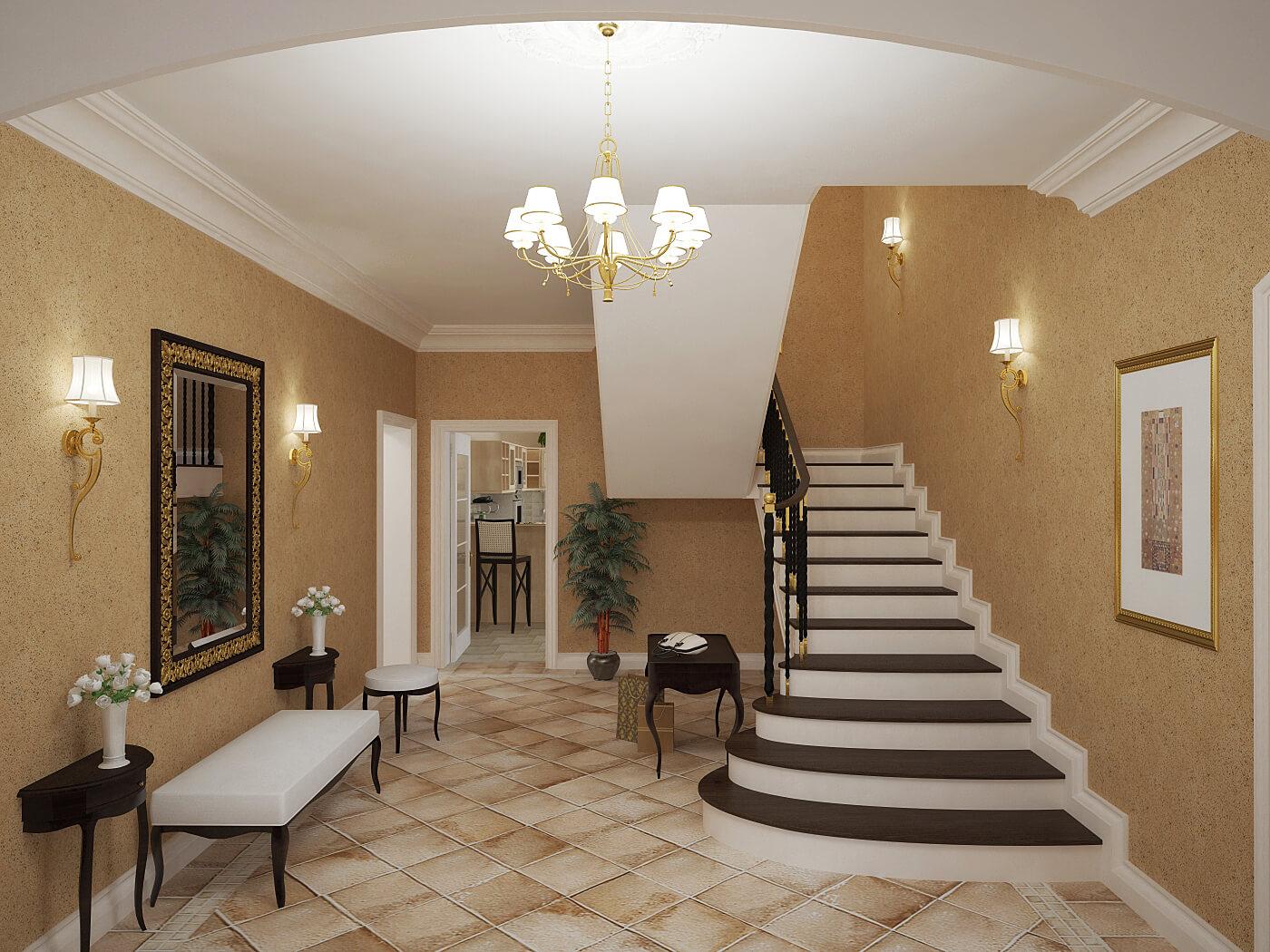 Дизайн внутренний отделки домов с