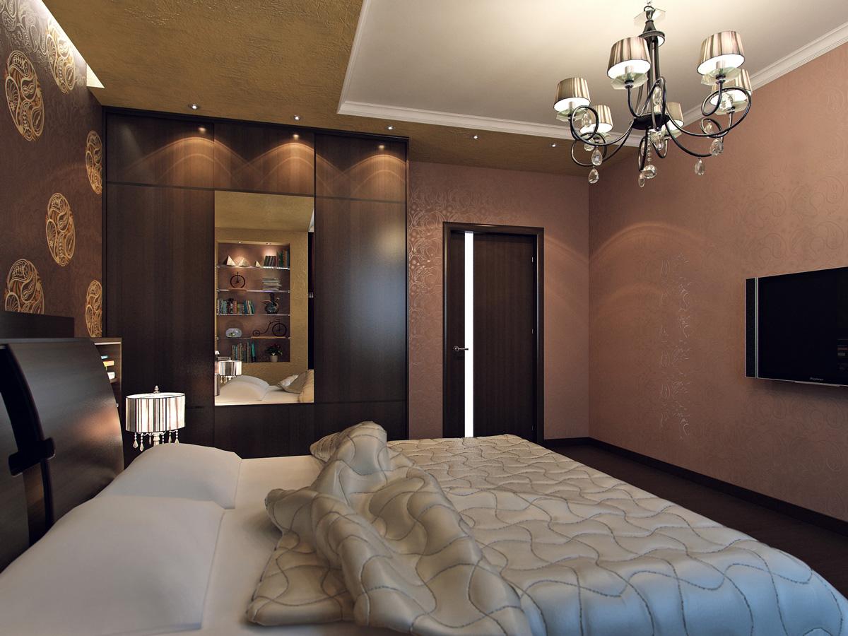 Спальня 15 кв м реальный дизайн