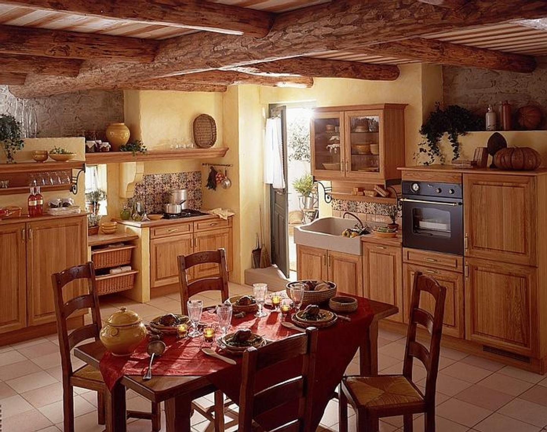 Интерьер кухни в прованском стиле