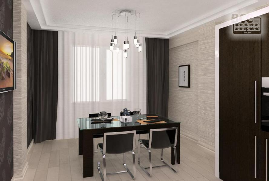 Дизайн двухкомнатной квартиры недорого