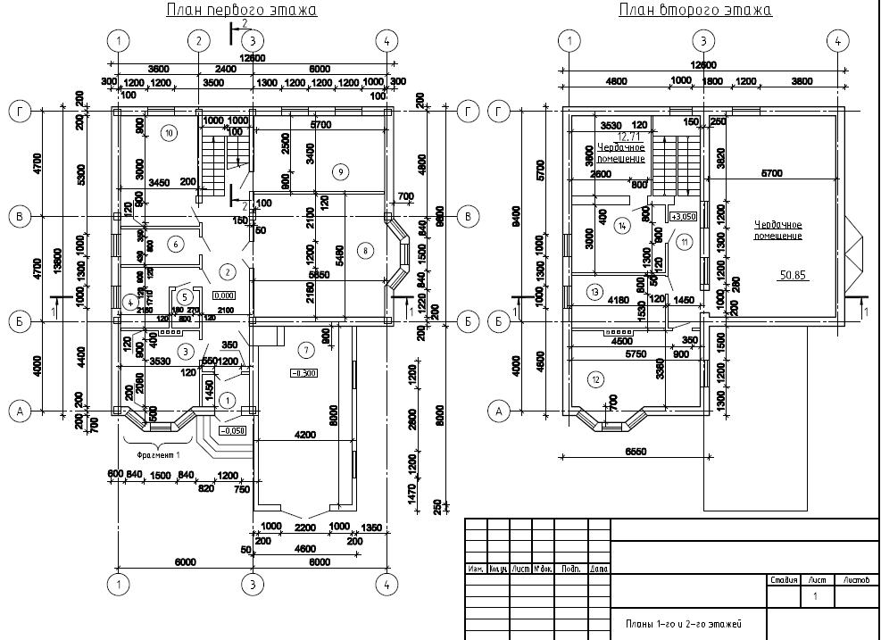 готовый проект дома с размерами и чертежами