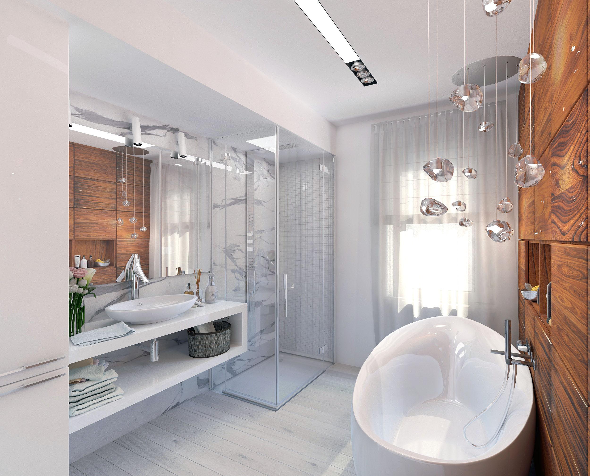 Туалет с окном дизайн