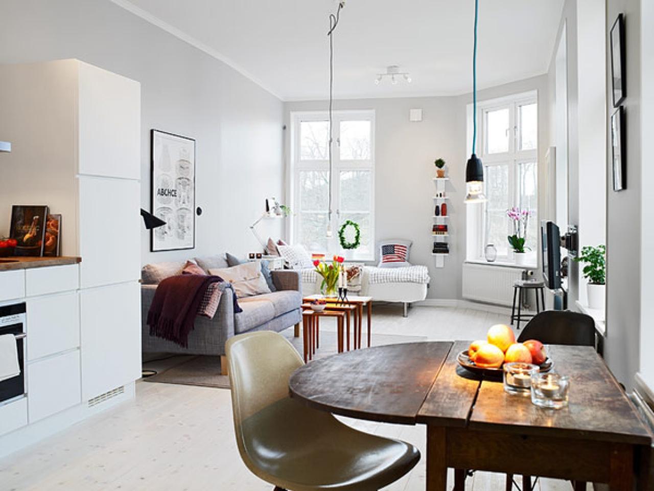 Декор и дизайн интерьера маленьких квартир