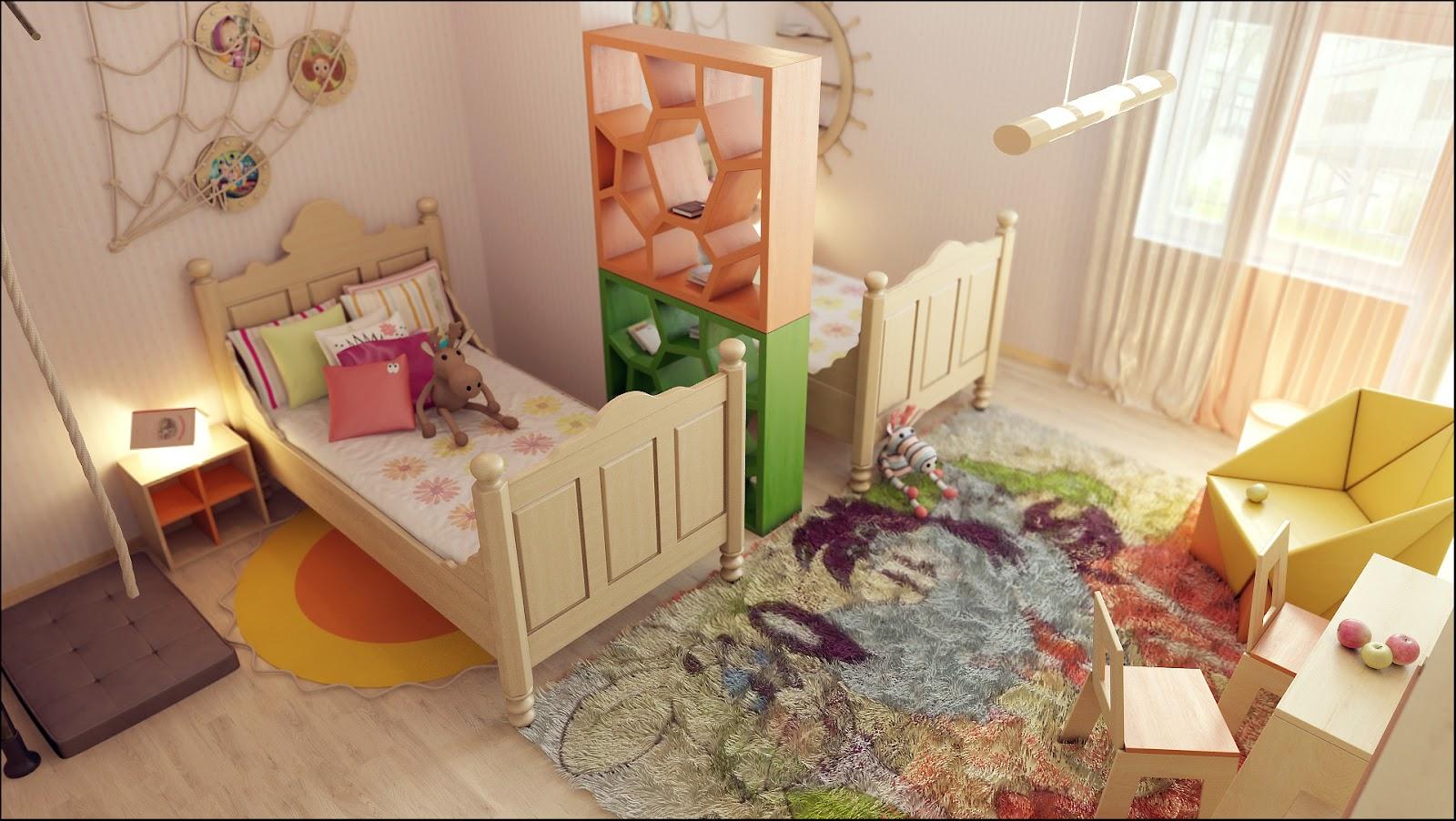 Двое разнополых детей в одной комнате фото