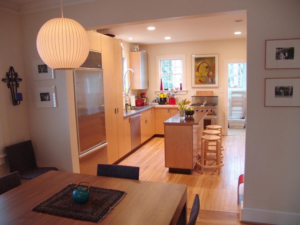 Ремонт кухни своими руками с в частном доме
