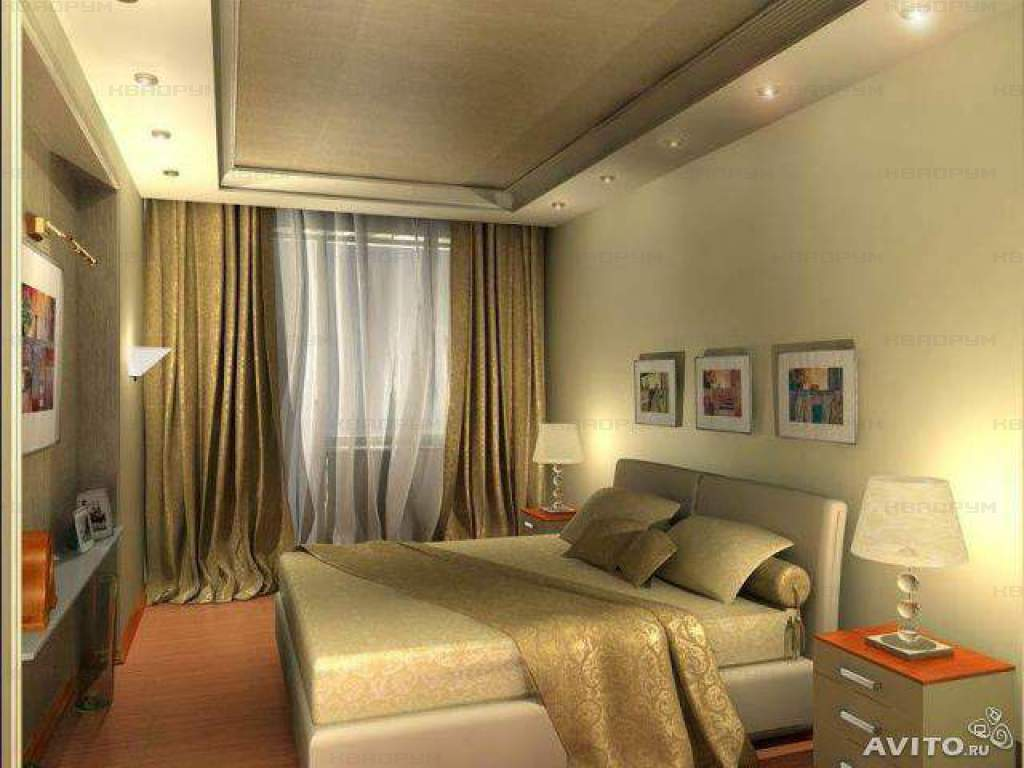 Дизайн интерьера спальни комнаты