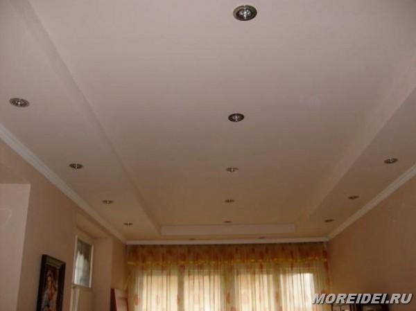 Дизайн потолок простые