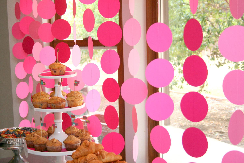 Украшение комнату на день рождения своими руками фото