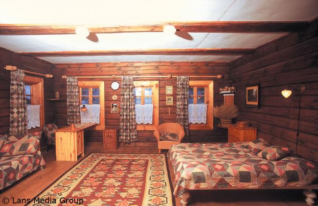 Деревенского дома внутри своими руками фото 484