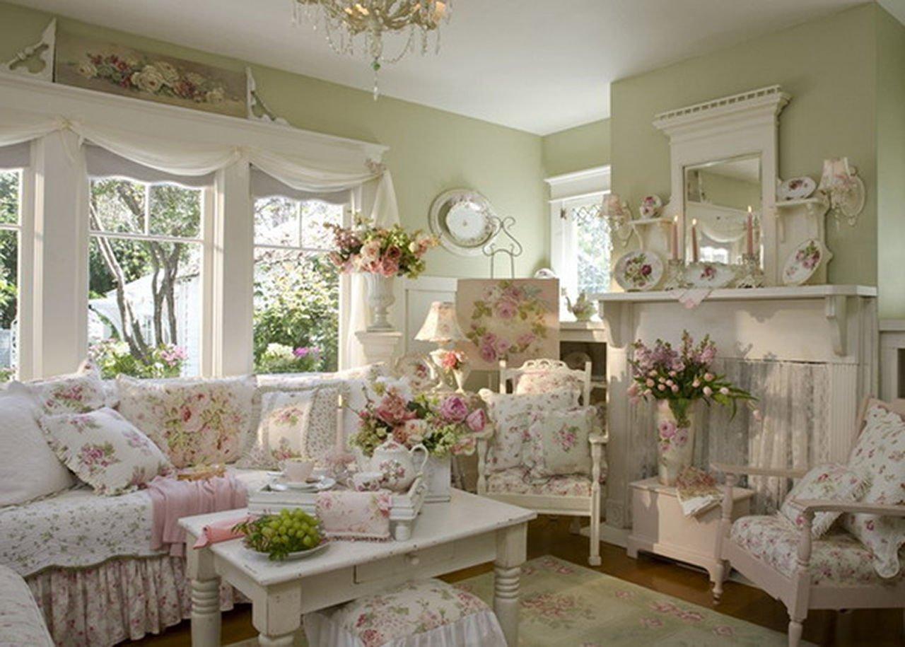 Интерьер дома в стиле прованс своими руками