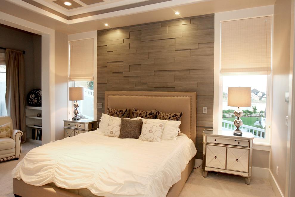 Стена за кроватью в спальне дизайн