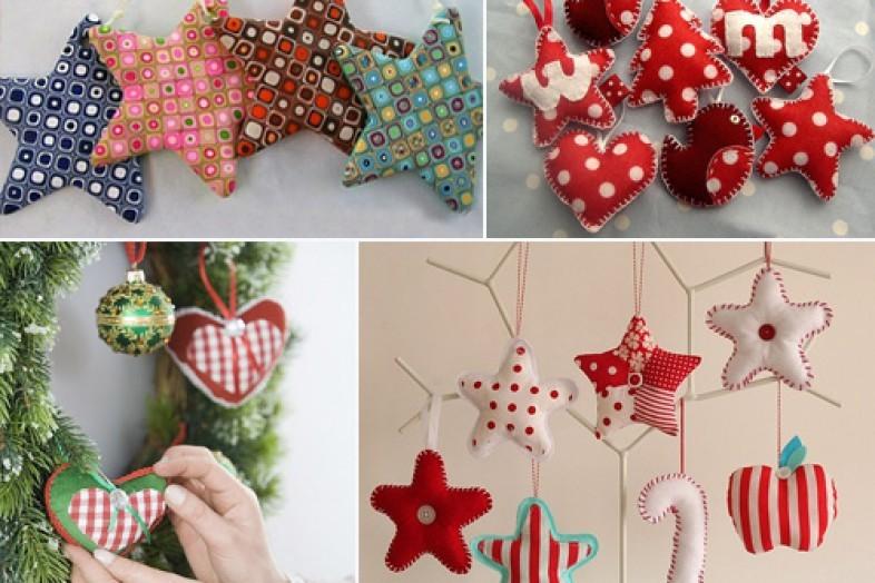Подарки своими руками из ткани на новый год