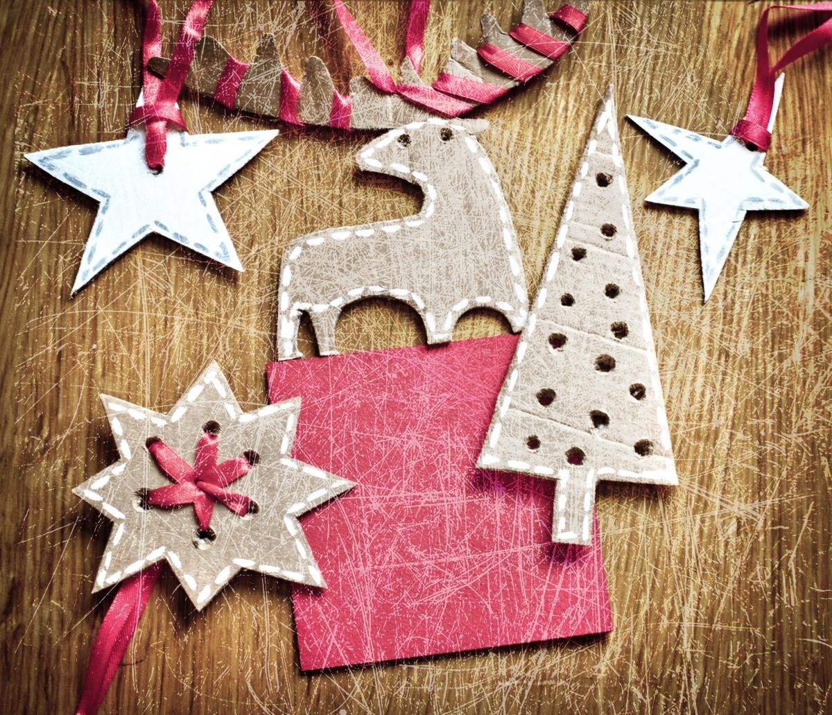 Елочные украшения новогодние своими руками